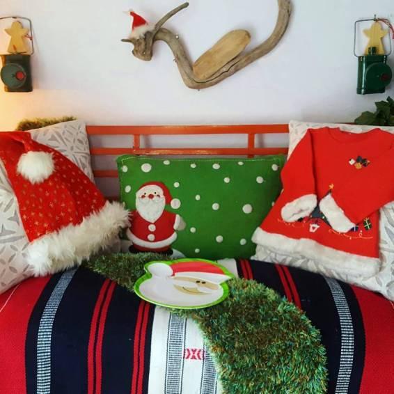 Santa Cushions