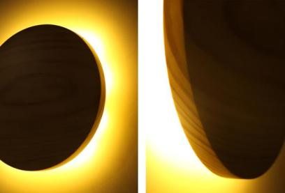 The Corona Lamp inspired by the Solar Eclipse