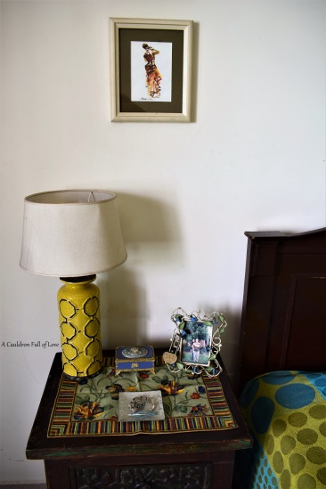 Bed side Table _ Water Colour Art from Pondicherry