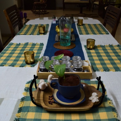 Dining Table Summery set-up